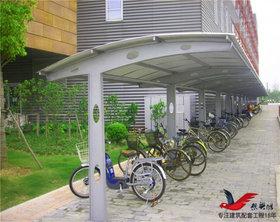 ZQ016小区膜结构雨棚停车棚