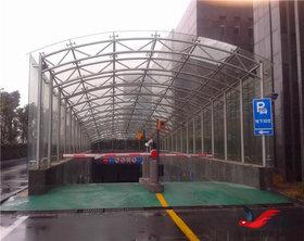 TC010停车场出入口雨棚