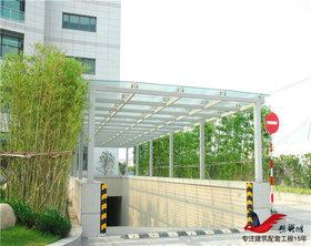 TC003小区商业楼停车场钢结构雨棚