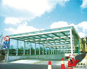 TC001商场小区停车场出入口雨棚