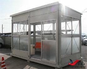 XY1钢结构吸烟亭户外移动式吸烟亭