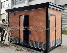 PD10户外设备房钢结构配电房可移动设备箱
